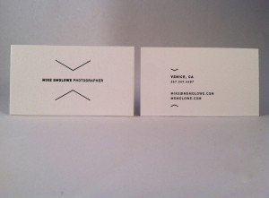 Mike businesscard